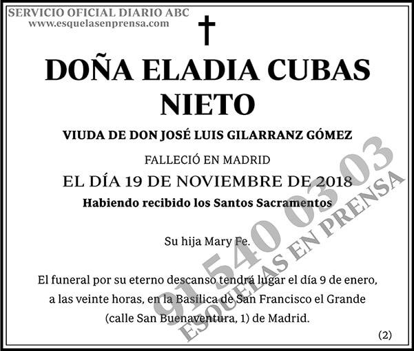 Eladia Cubas Nieto